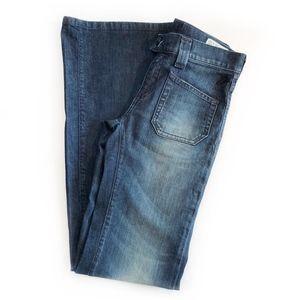 DIESEL   Fluzi Belted Flare Trouser Jeans